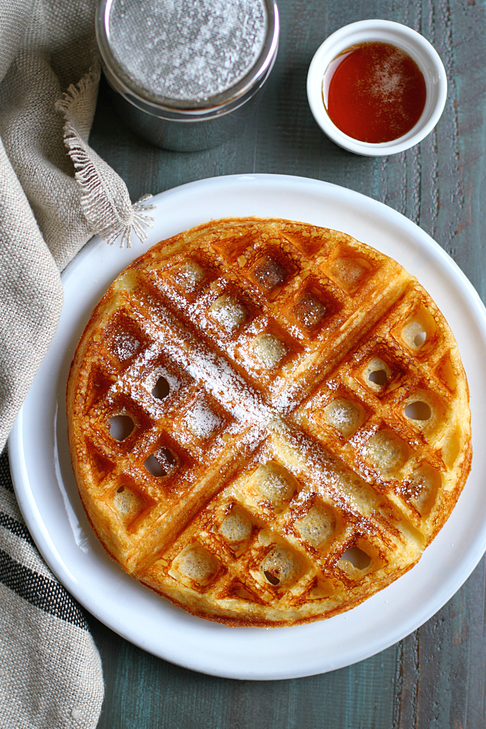 Brown Sugar Kitchens Cornmeal Waffles  Two of a Kind
