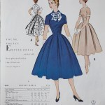 9698 Mccalls 1954 Winter Vintage Pattern | 1950s Two Old Beans Vintage Clothing