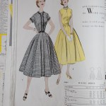 9784 Mccalls 1954 Winter Vintage Pattern | 1950s Two Old Beans Vintage Clothing