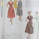9786 + 9439 Mccalls 1954 Winter Vintage Pattern | 1950s Two Old Beans Vintage Clothing