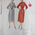 9848 Mccalls 1954 Winter Vintage Pattern | 1950s Two Old Beans Vintage Clothing
