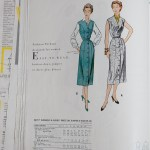 9879 Mccalls 1954 Winter Vintage Pattern | 1950s Two Old Beans Vintage Clothing