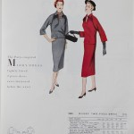 9880 Mccalls 1954 Winter Vintage Pattern | 1950s Two Old Beans Vintage Clothing