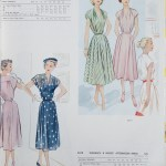 8793 + 8578 Mccalls 1954 Winter Vintage Pattern | 1950s Two Old Beans Vintage Clothing