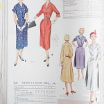 9663 + 8640 Mccalls 1954 Winter Vintage Pattern | 1950s Two Old Beans Vintage Clothing