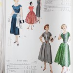 9669 + 9608 Mccalls 1954 Winter Vintage Pattern | 1950s Two Old Beans Vintage Clothing