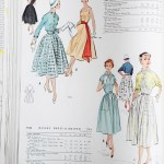 9725 + 9440 Mccalls 1954 Winter Vintage Pattern | 1950s Two Old Beans Vintage Clothing