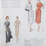 9749 + 9743 Mccalls 1954 Winter Vintage Pattern | 1950s Two Old Beans Vintage Clothing