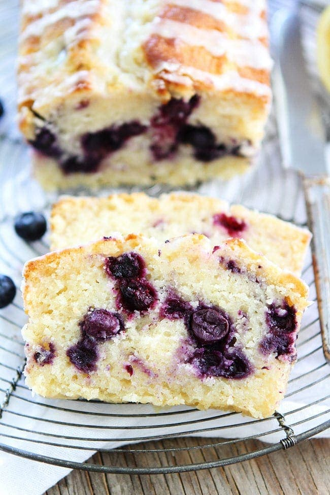 Lemon Blueberry Loaf Cake Recipe Two Peas Amp Their Pod