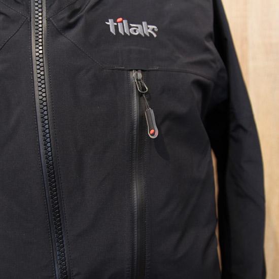 tilak (ティラック) Stinger Pro Jacket (スティンガープロジャケット) cavirblack/cavirblack 止水ジッパー