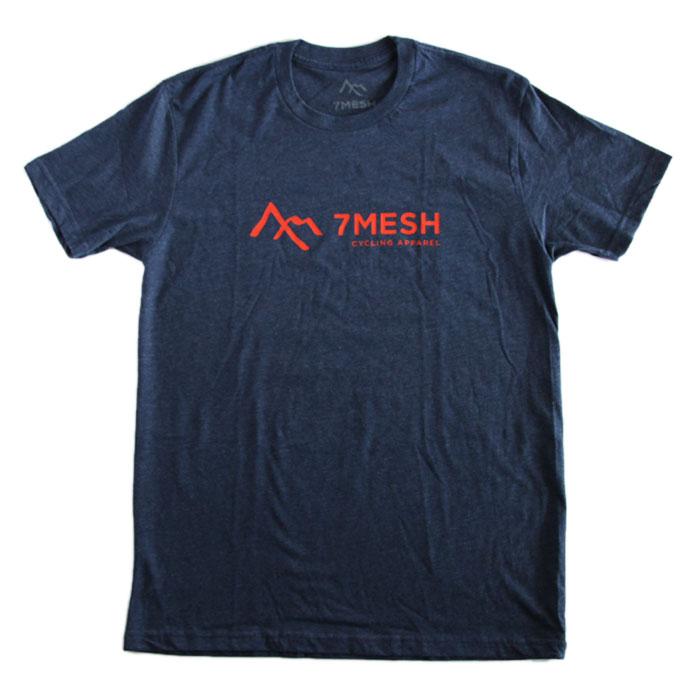 7mesh (セブンメッシュ) Logo T-Shirt (ロゴTシャツ) Midnight Blue ミッドナイトブルー