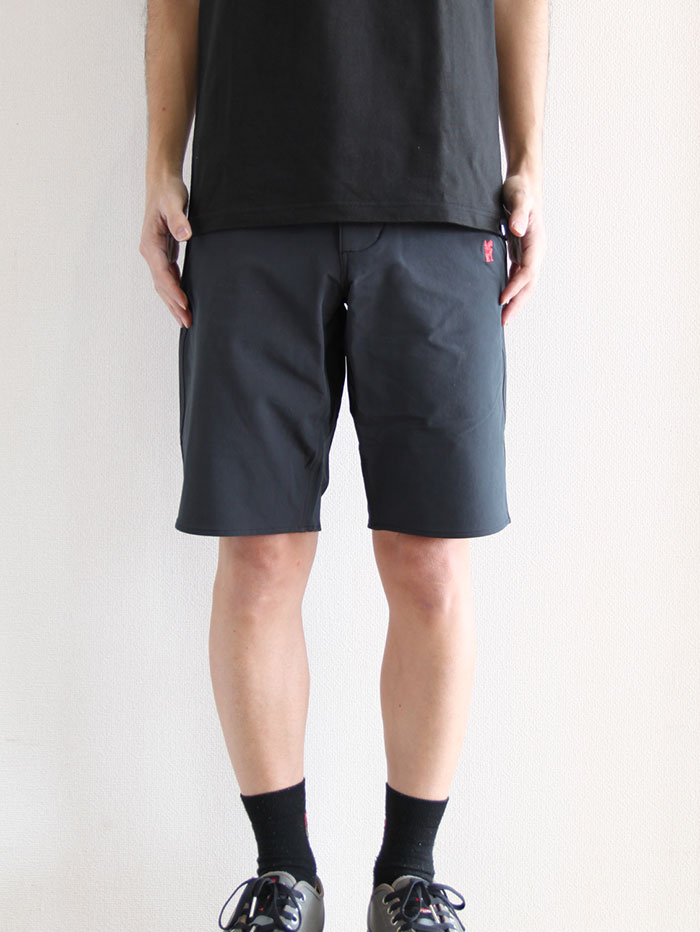 NATOMA SHORT BLACK/BRICK - CHROME (クローム)
