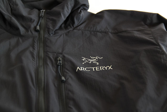ARC'TERYX(アークテリクス) Squamish Hoody(スコーミッシュ フーディー) Black