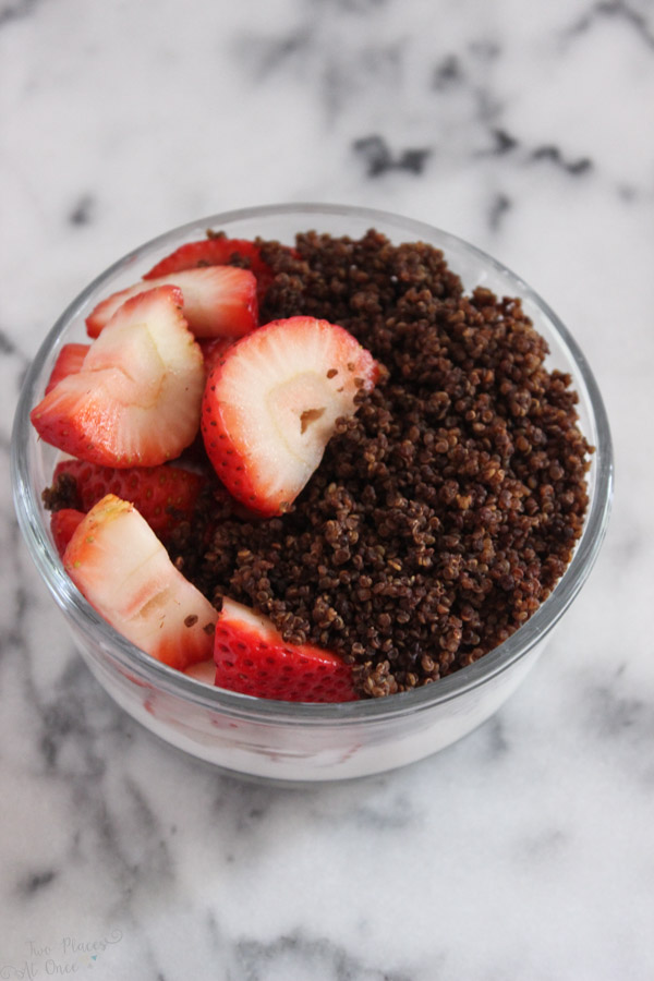 Chocolate Quinoa Crispies