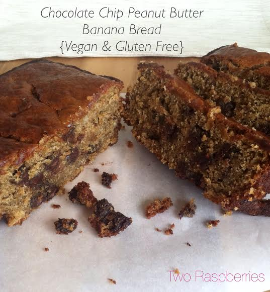 Chocolate Chip PB banana bread