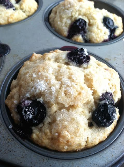 Amazing Blueberry Muffins - Vegan - TwoRaspberries - photo#12
