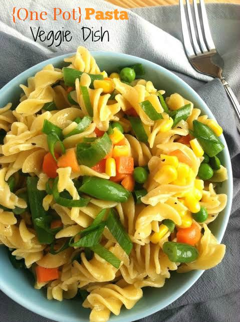Easy One Pot Veggie Pasta Dish