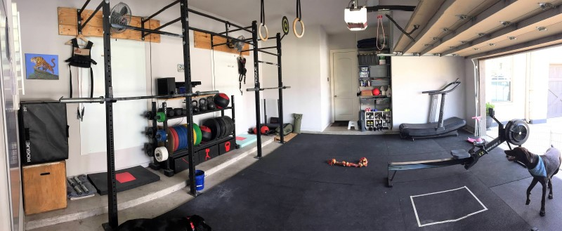 Benjamin S 5 Year Garage Gym Evolution Two Rep Cave