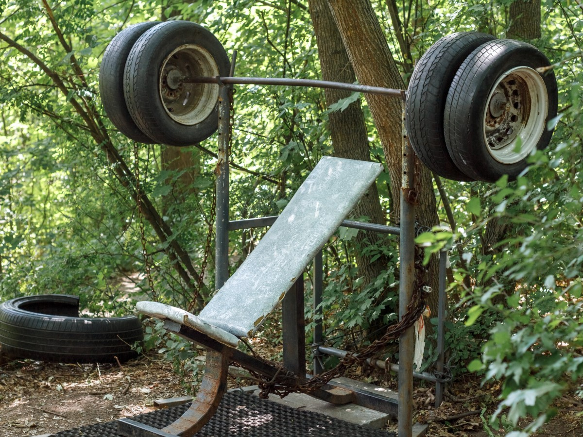 outdoor home gyms how to avoid rust or