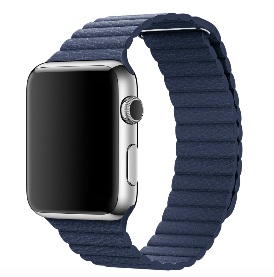 Apple Watch con correa Leather Loop