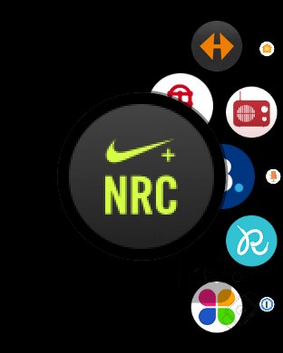 Icono de Nike Run Club