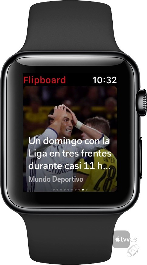 Flipboard para Apple Watch