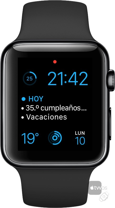 Apple Watch Series 2 tras 36 horas encendido