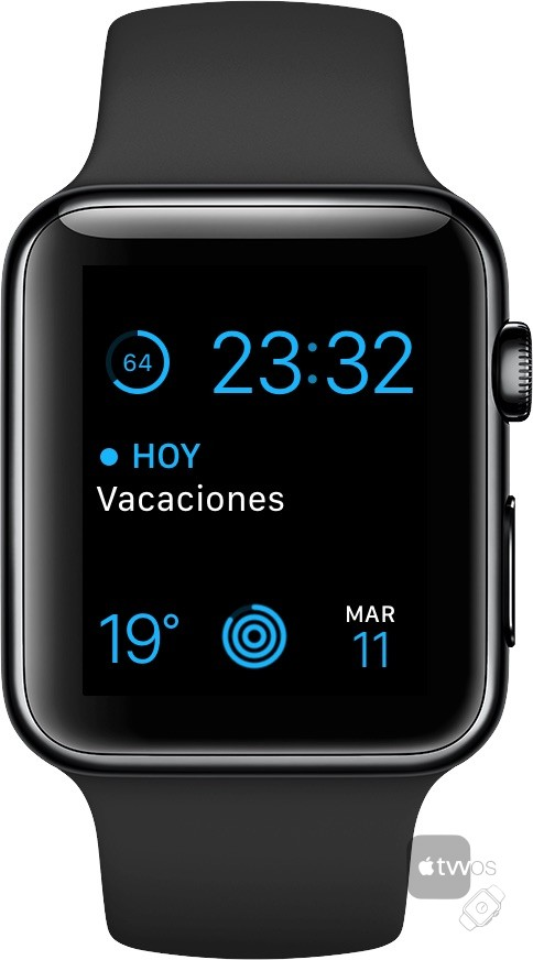 Apple Watch Series 2 tras 15 horas encendido