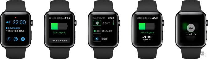 Juice Monitor en Apple Watch