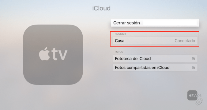 HomeKit en Apple TV
