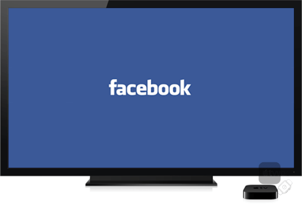 Facebook en Apple TV