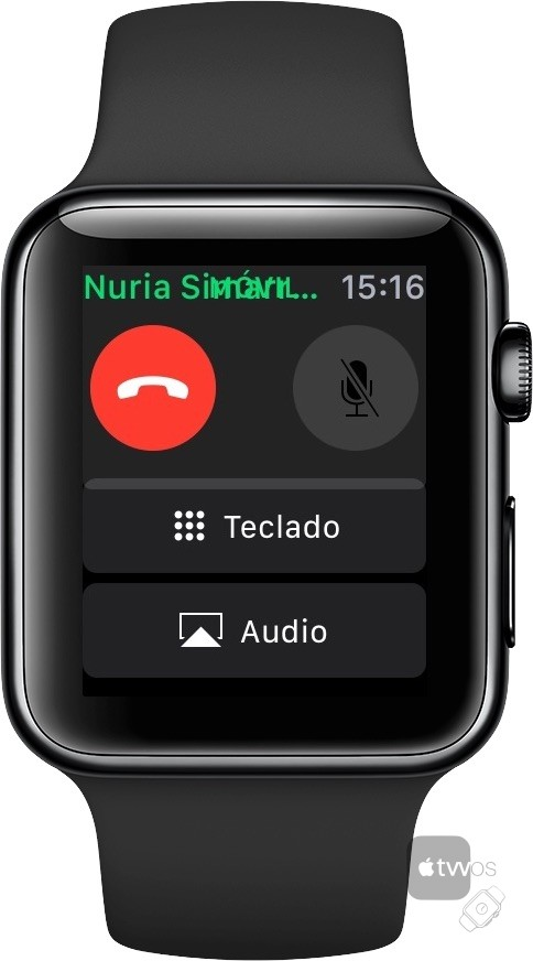 Mostrar teclado numérico en Apple Watch