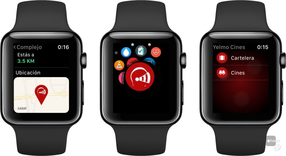 Yelmo Cines para Apple Watch