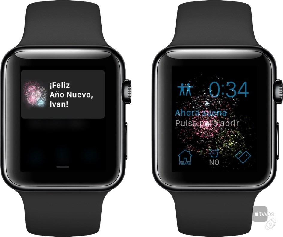 Feliz año en Apple Watch