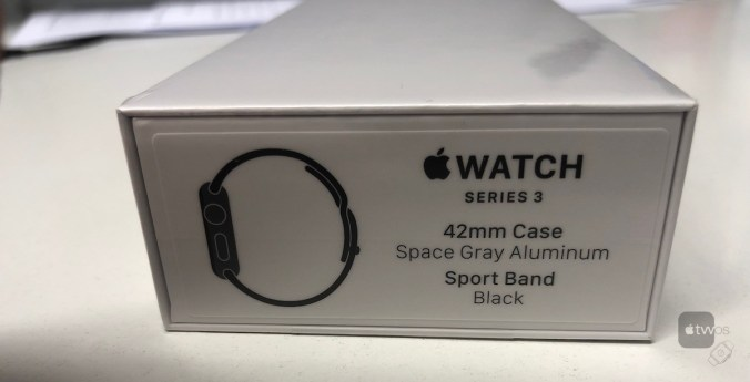 embalaje del Apple Watch Series 3 refit