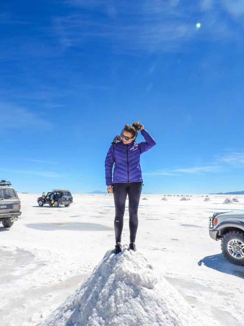 Bolivia Salt Flats Uyuni I Female Travel Packing List