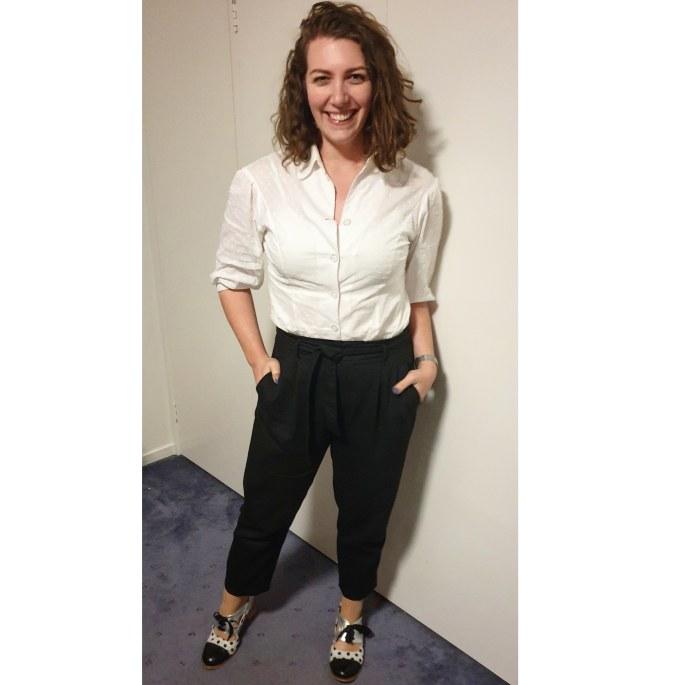 Two Sewing Sisters - Frocktober OCRF - Pantstember