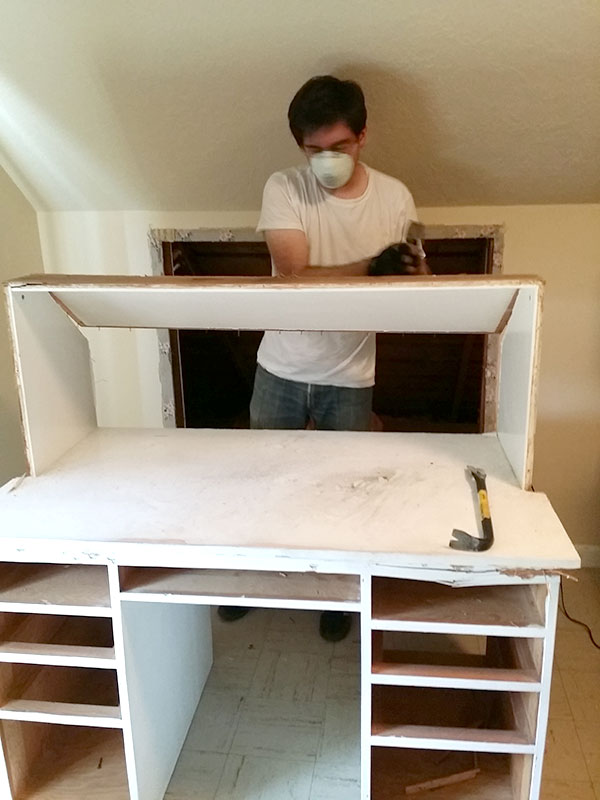Craft Studio And Home Office Remodel: Part One U2013 Two Shallow Pockets