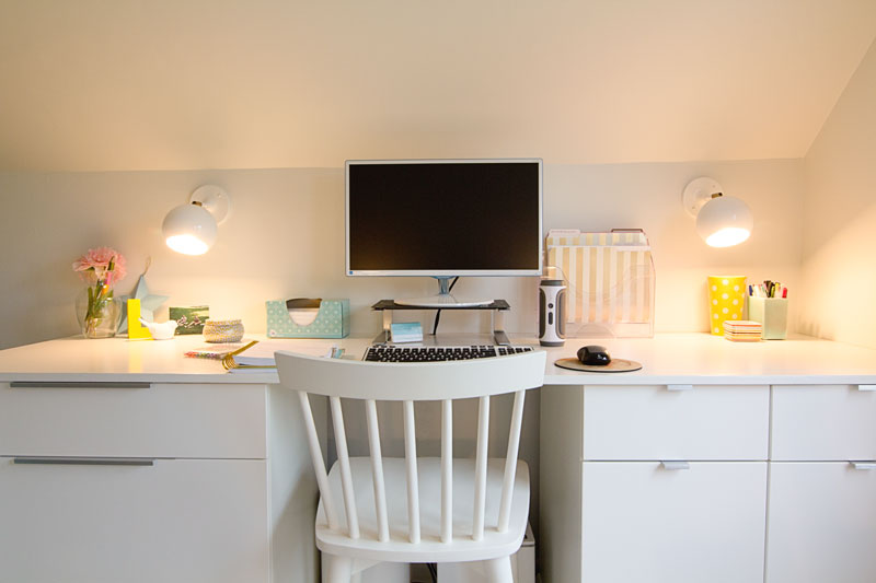 Craft Studio and Home Office Reveal - Work Desk