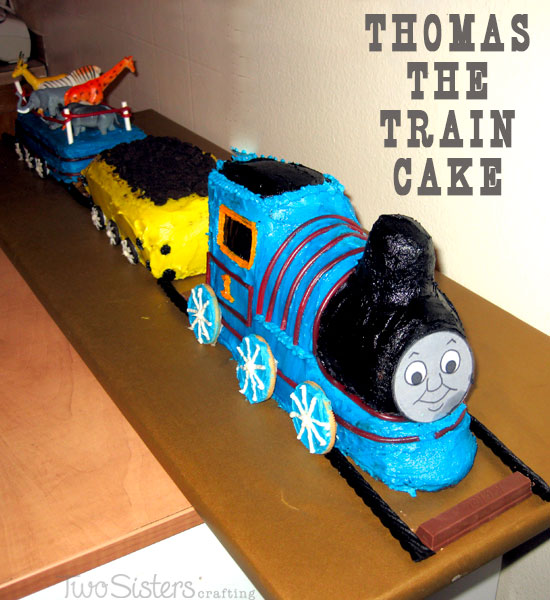 Thomas The Train Cake Two Sisters