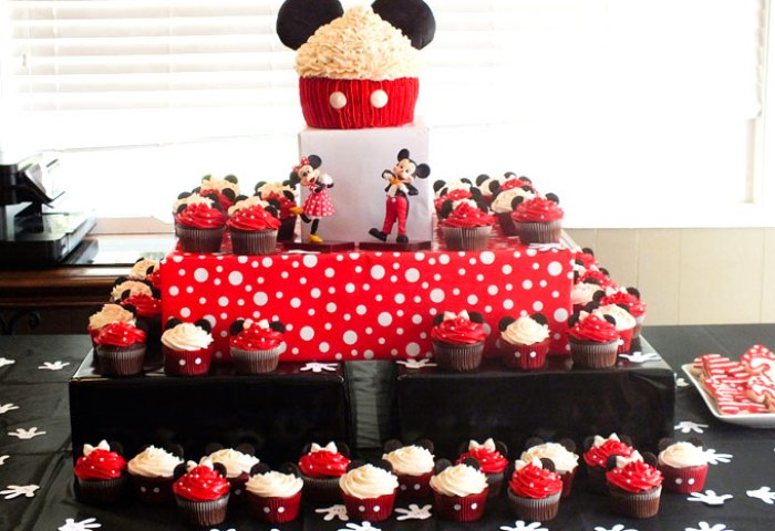 Mickey Minnie Mouse Cupcakes Two Sisters