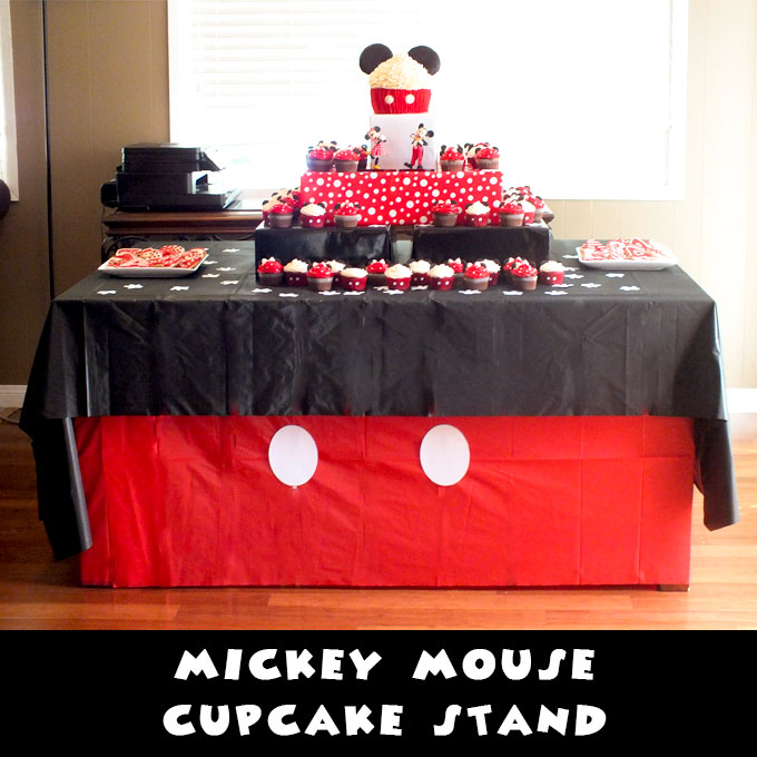 pig kitchen home depot shelves mickey mouse cupcake stand - two sisters crafting