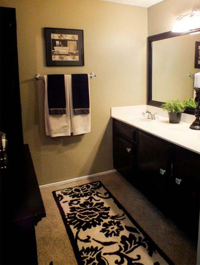 Bathroom Makeovers Diy diy bathroom makeover : brightpulse