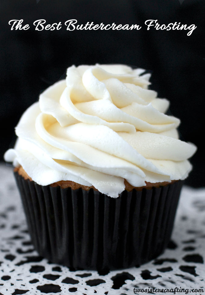 The Best Buttercream Frosting  Two Sisters