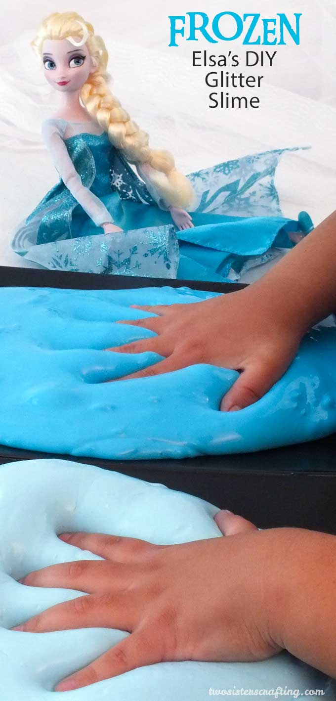 Disney Frozen Troll Slime  Two Sisters Crafting