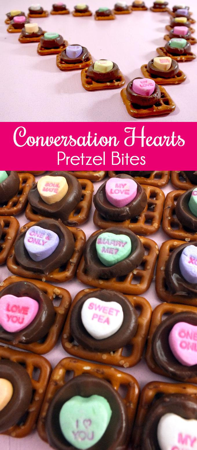 Conversation Hearts Pretzel Bites Two Sisters Crafting
