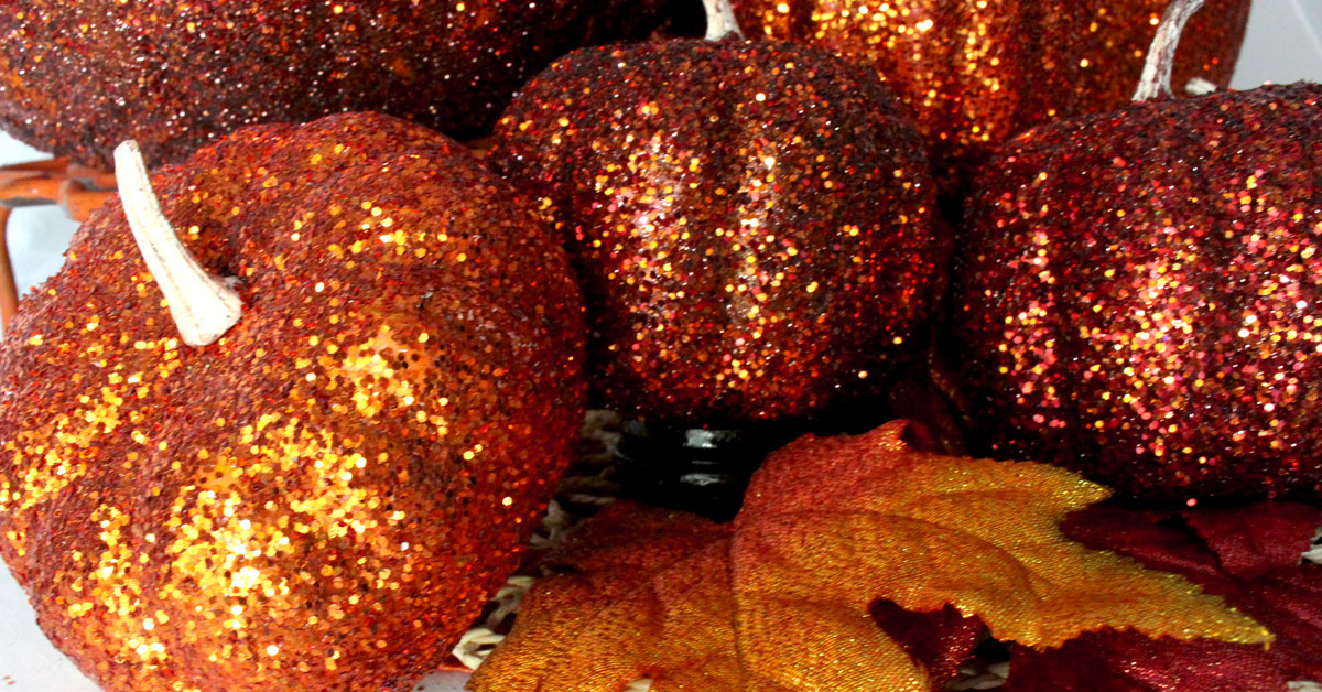 Fall And Thangsgiving Wallpaper Glitter Pumpkins Two Sisters