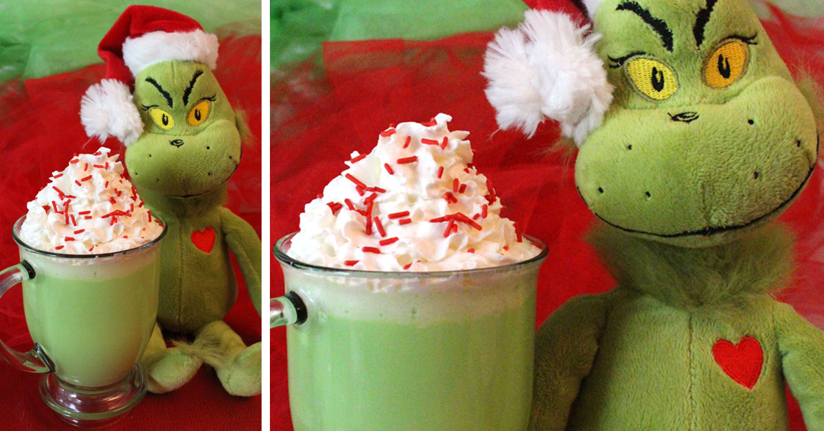 Grinch Hot Vanilla Milk Two Sisters