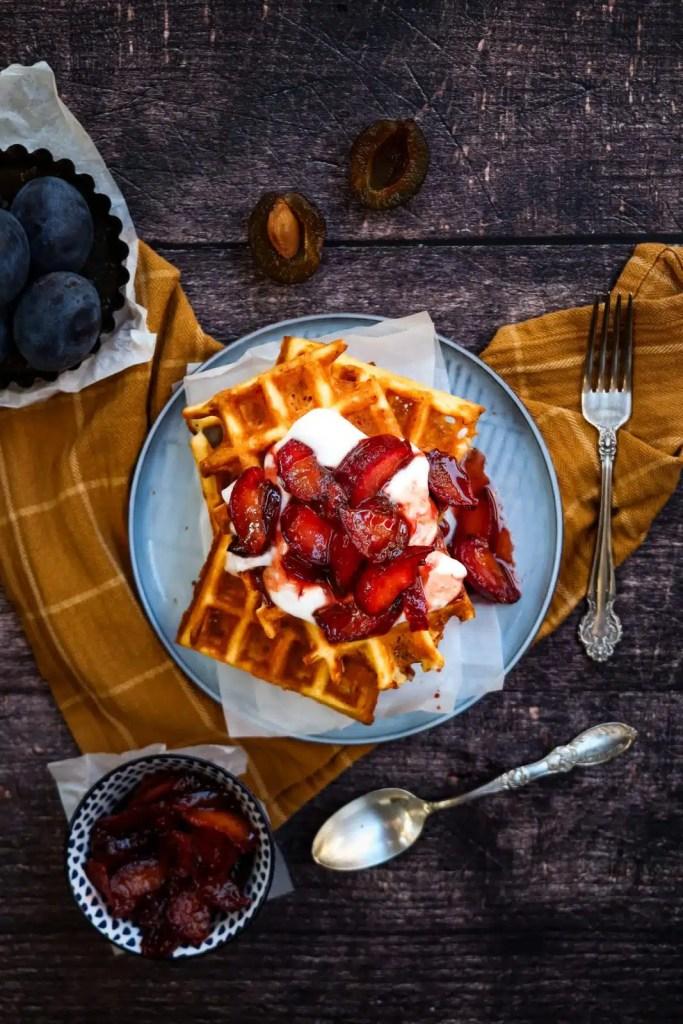 Easy waffle recipes, easy breakfast recipes