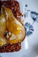 honey, quinoa, carrot & pear loafs